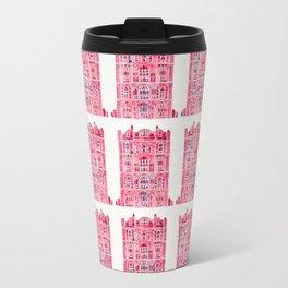 Hawa Mahal – Pink Palace of Jaipur, India Metal Travel Mug