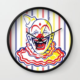 Clown Classic Circus Clown Wall Clock