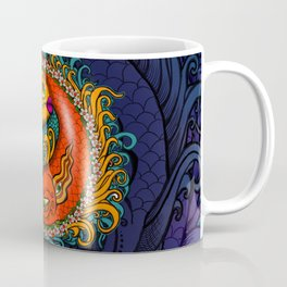 Yin Yang Koi Coffee Mug