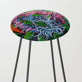 Cotton Candy Counter Stool