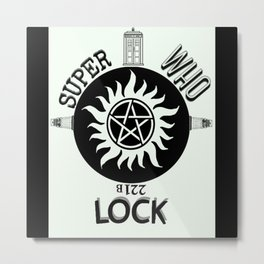Superwholock Metal Print