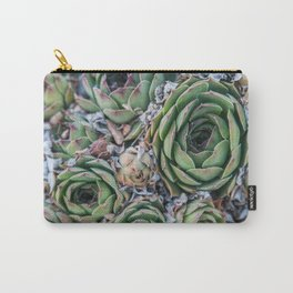 Succulents All Over Carry-All Pouch