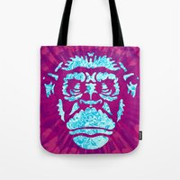 ape Tote Bags featuring Ape by NewFoundBrand