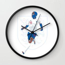 Raheem Sterling - Rahw Speed Wall Clock