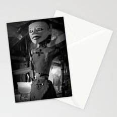 antique store puppet Stationery Cards