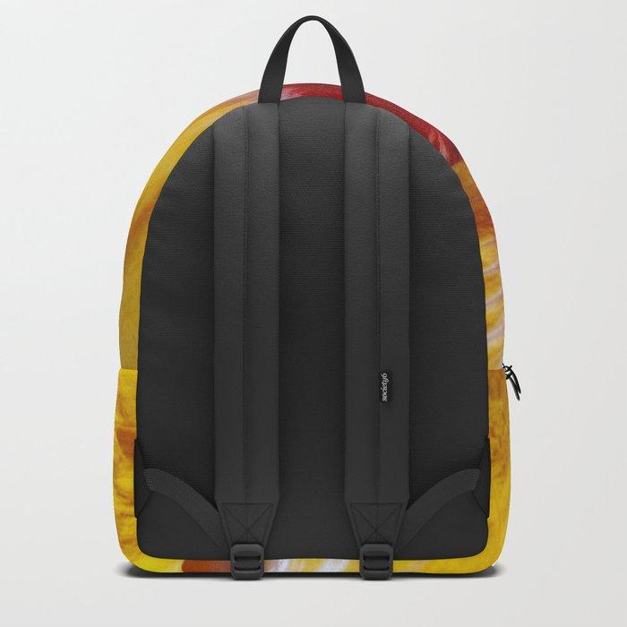 Yellow Burst Flower Backpack