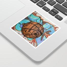 Basketball Graffiti Team Sports Design Sticker