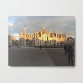 The Provincial Court of Bruges Metal Print