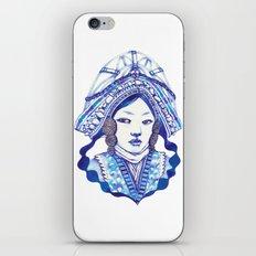 Baby Blue #3 iPhone & iPod Skin
