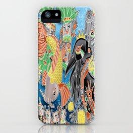 koi temple iPhone Case