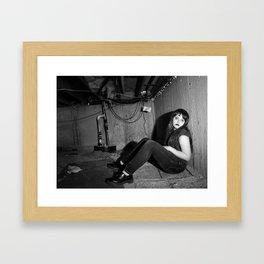 The Waiting Room Framed Art Print