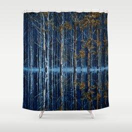 FOREST FLOOD Shower Curtain