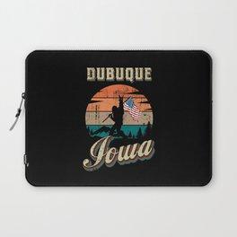 Dubuque Iowa Laptop Sleeve