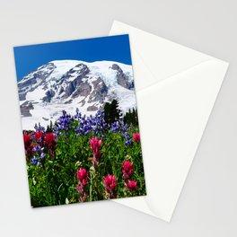 Mountain Wildflower Panoramic Stationery Cards