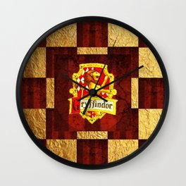 House Emblems - Gryffin Wall Clock