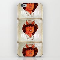 acdc iPhone & iPod Skins featuring ACDC   Highway to Hell by K▽nchʁLϟ