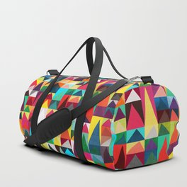 Abstract Geometric Mountains Duffle Bag