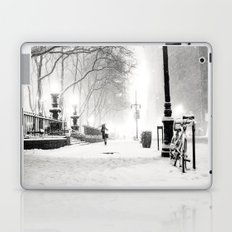 Snow - New York City - Bryant Park Laptop & iPad Skin