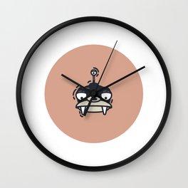 Lord Nibbler Wall Clock