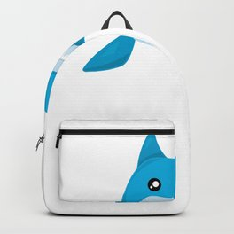 Friendly Sharks Bucktooth Shark Backpack