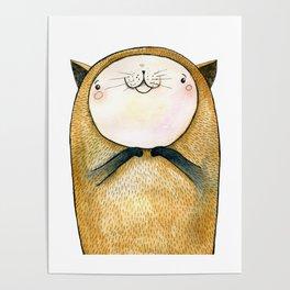 cutie cat Poster