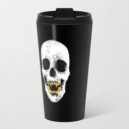 Snake Skin Skull Travel Mug