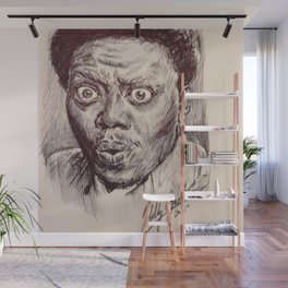 Bernie Mac Portrait Wall Mural