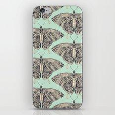 swallowtail butterfly mint basalt iPhone & iPod Skin