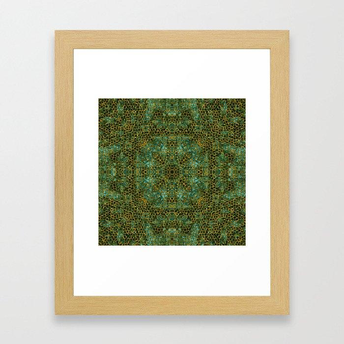 Mosaic 2a Framed Art Print