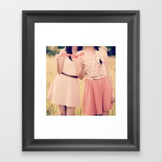 She Is My Best Friend!  Framed Art Print