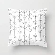 Branch Pattern Throw Pillow