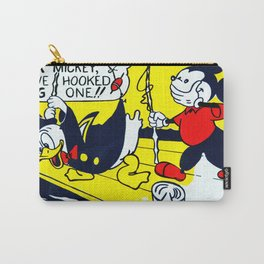 Look Mickey - 1961 - Lichtenstein Carry-All Pouch
