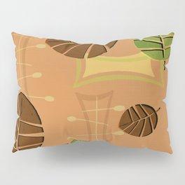Tiki Bar Wallpaper Pattern Pillow Sham