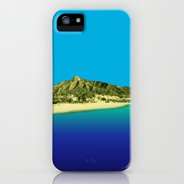 Marbella Fluoro iPhone Case