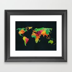 We are colorful Framed Art Print