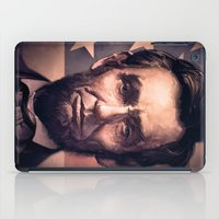 lincoln iPad Cases featuring Lincoln by Dominick Saponaro