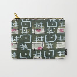 Tic Tac Hearts Carry-All Pouch
