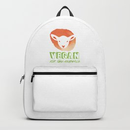 Vegan for the Animals Backpack