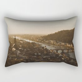 View of Heidelberg from above Rectangular Pillow