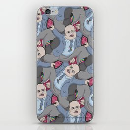 Run Away Office Boy tessellation iPhone Skin