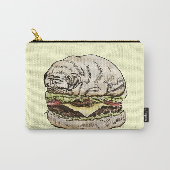 Pug Burger Carry-All Pouch