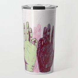 Hands. Travel Mug
