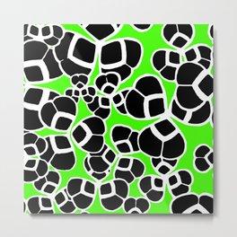 "Koloman (Kolo) Moser ""Textile pattern (Cloverleaf / Shamrock)"" (3) Metal Print"