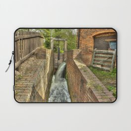 Sluice Gate at the Water mill Laptop Sleeve