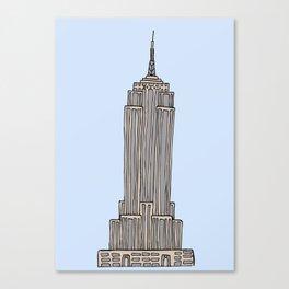 Empire State Bldg. NY Canvas Print