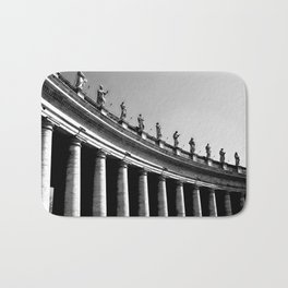 St Peters Square Rome Bath Mat