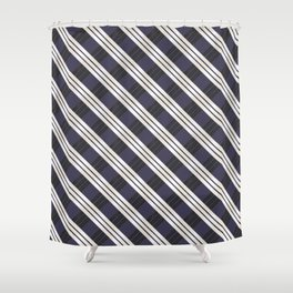 Static Movement (Patterns Please) Shower Curtain