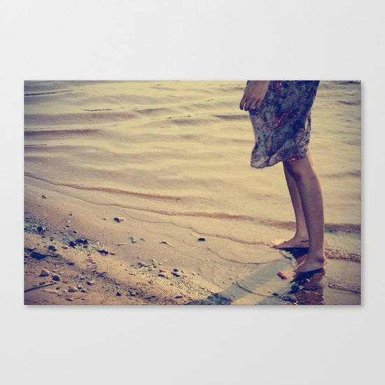 ocean & you Canvas Print
