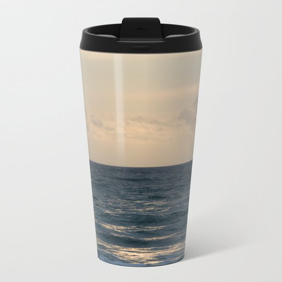 Blue Heaven Metal Travel Mug