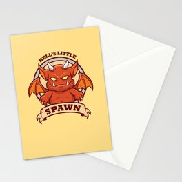 Little Red Devil Stationery Cards
